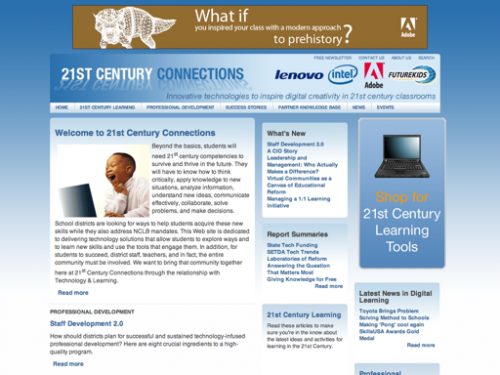 Website Design | Tech & Learning 21st Century Connections