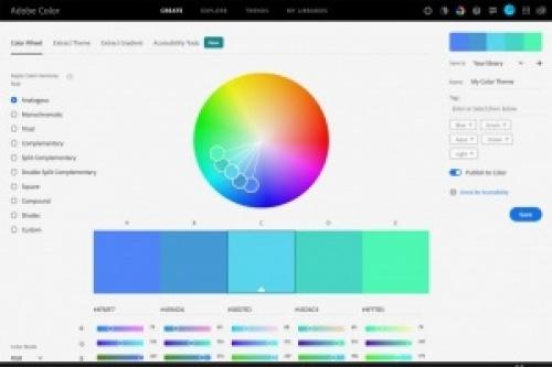 Adobe Color app