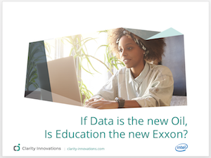 Is data the new oil for education