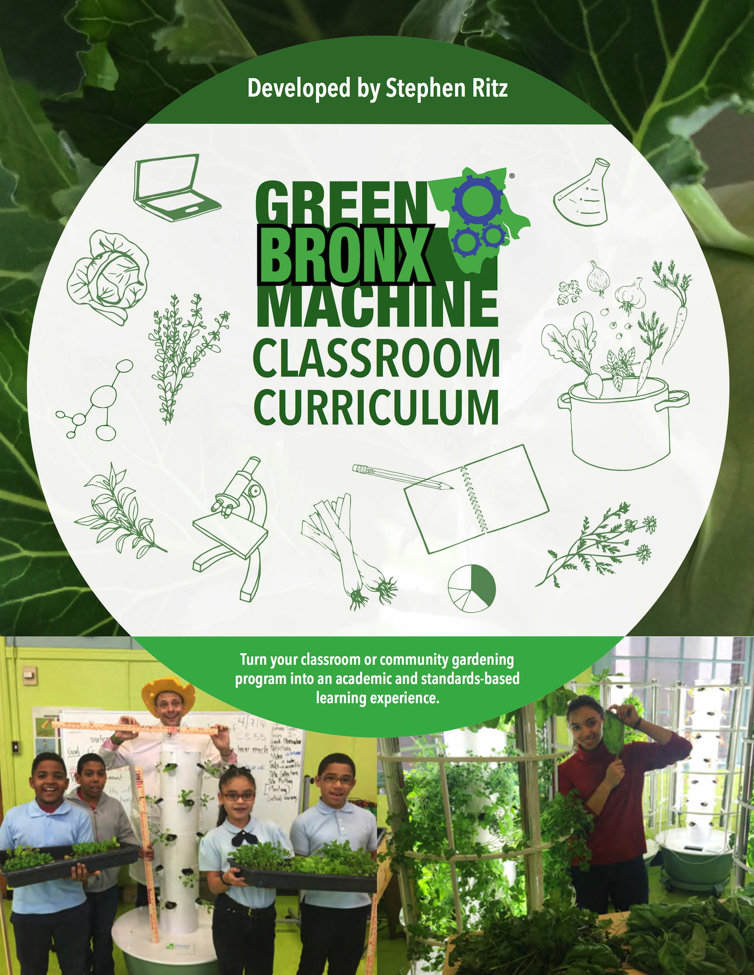 Green Bronx Machine Classroom Curriculum (Image of cover)
