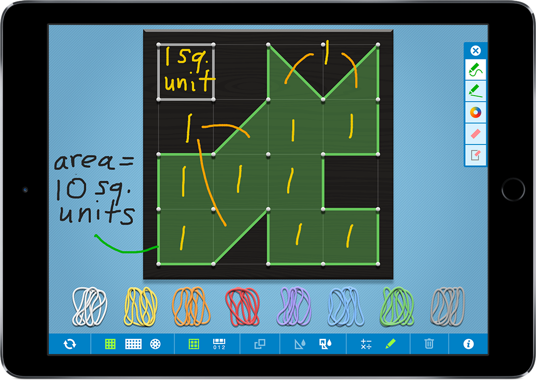 Geoboard, by The Math Learning Center | Clarity Innovations, Inc.