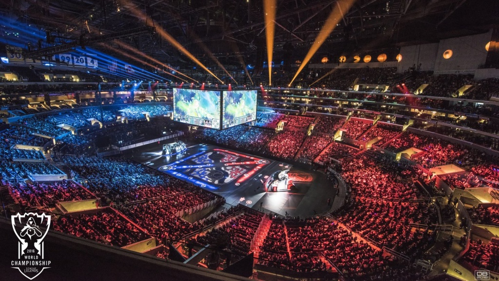 Image copyright LA Times HS Insider 2018 of esports world championship arena