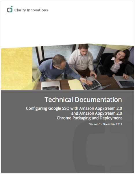 Cover image of google-appstream technical documentation